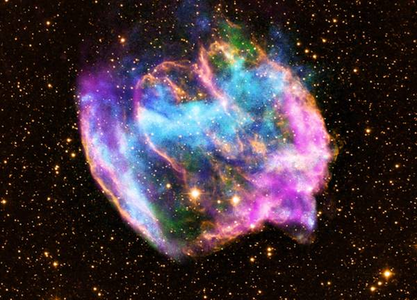 NASA: Rare explosion may have created our Galaxy's youngest back hole